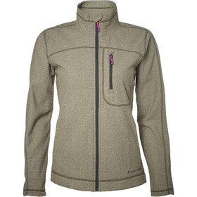 North Bend Aspect Fleecejacke Damen green lichen
